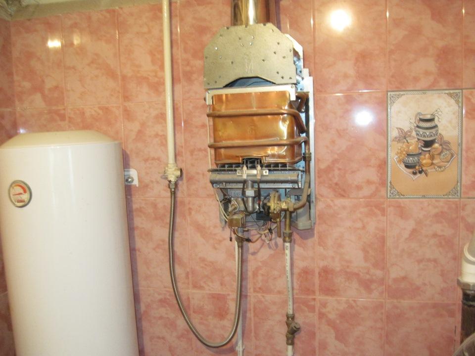 Ремонт газовых колонок на Гостином дворе