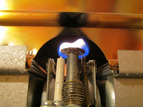Гаснет газовая колонка