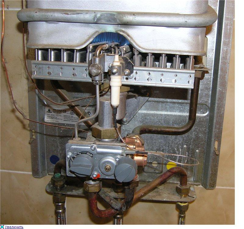 Ремонт газовых колонок в Никольском