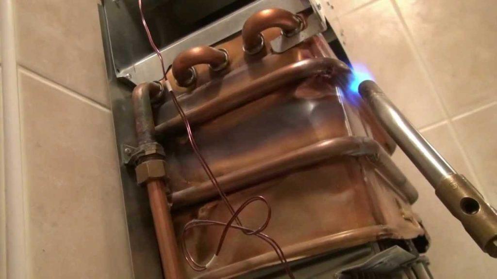 Ремонт теплообменника газовой