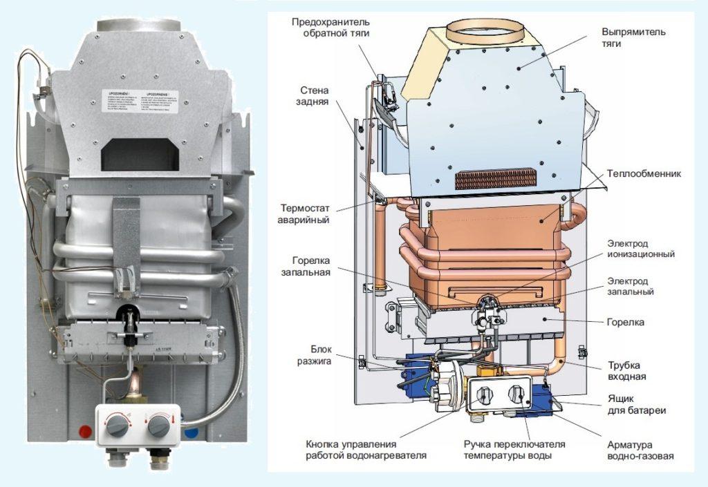 Ремонт газовых колонок Mora