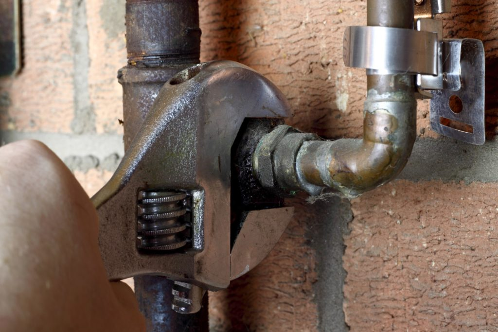 Демонтаж газовых труб
